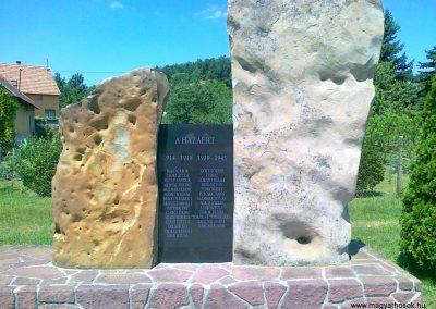 Ábrahámhegy világháborús emlékmű 2010.07.08. küldő-Csiszár Lehel (1)