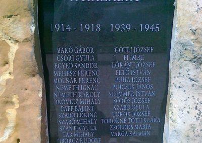 Ábrahámhegy világháborús emlékmű 2010.07.08. küldő-Csiszár Lehel (2)