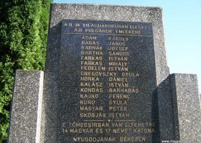 Áj II.vh emlékmű 2011.09.25. küldő-Horváth Zsolt (2)