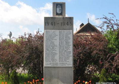 Ároktő világháborús emlékmű 2008.04.22.küldő-Kályhás (3)