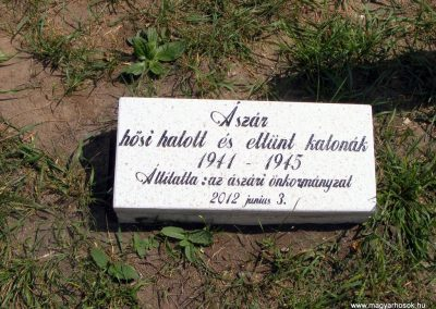 Ászár II. világháborús emlékmű és emlékhely 2012.08.13. küldő-Méri (6)
