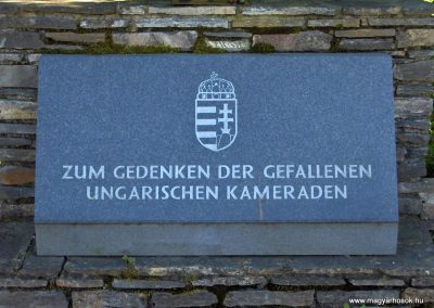 Írottkő-Geschriebenstein világháborús emlékhely --Gondoljunk az elesett magyar katonákra-- 2010.06.27. küldő-Gyurkusz