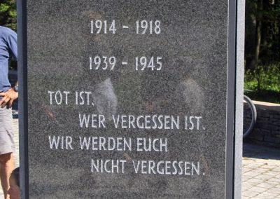 Írottkő--Geschriebenstein világháborús emlékhely --Halott kit elfelejtenek.Mi nem felejtünk.-- 2010.06.27. küldő-Gyurkusz (1)