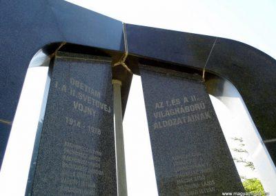 Ógyalla világháborús emlékmű 2013.07.21. küldő-Méri (2)