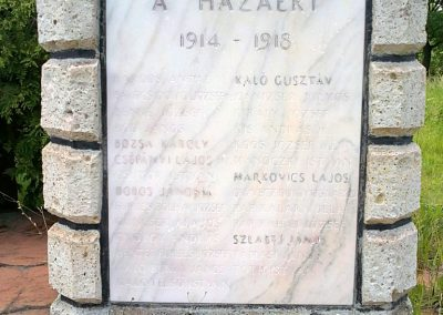 Ózd-Somsály I.világháborús emlékmű 2012.06.03. küldő-Pataki Tamás (1)