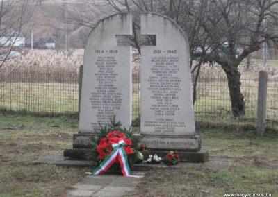 Ózd-Szentsimon világháborús emlékmű 2008.01.27. küldő-Kályhás