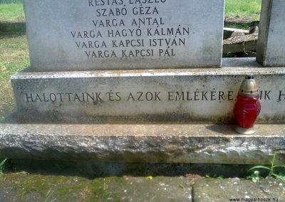 Ózd-Szentsimon világháborús emlékmű 2013.06.22. küldő-Pataki Tamás (2)