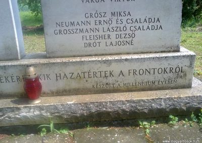 Ózd-Szentsimon világháborús emlékmű 2013.06.22. küldő-Pataki Tamás (3)