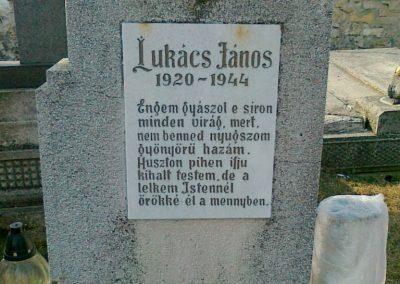 Öskü hősi halottja 2011.03.15. küldő-Csiszár Lehel