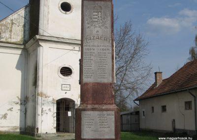 Ötvöskónyi világháborús emlékmű 2009.04.05. küldő-kalyhas (2)