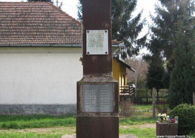 Ötvöskónyi világháborús emlékmű 2009.04.05. küldő-kalyhas (3)