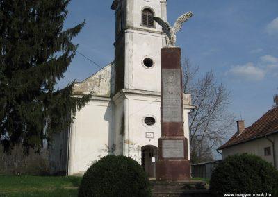 Ötvöskónyi világháborús emlékmű 2009.04.05. küldő-kalyhas