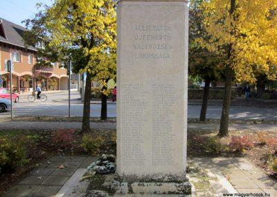 Újfehértó II. világháborús emlékmű 2013.10.11. küldő-kalyhas (4)