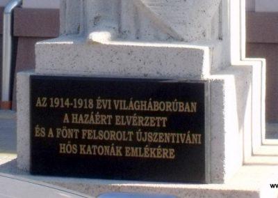 Újszentiván I. világháborús emlékmű 2010.10.03. küldő-Mia72 (1)