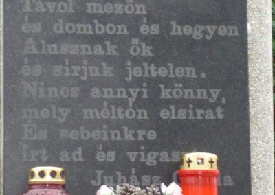 Újudvar világháborús emlékmű 2009.11.21. küldő-Ágca (4)