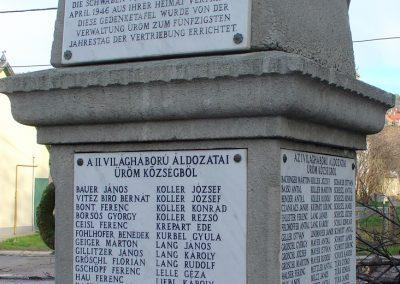 Üröm világháborús emlékmű 2008.02.10. küldő-Zebi (6)