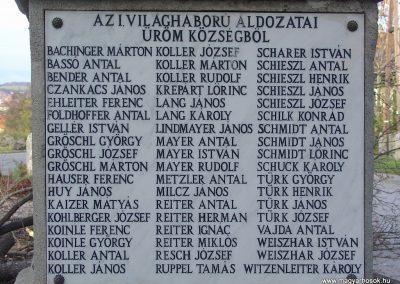 Üröm világháborús emlékmű 2008.02.10. küldő-Zebi (7)