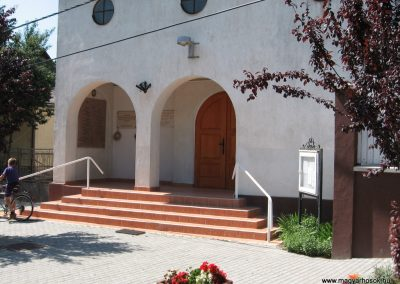 Őrbottyán II.vh emléktábla a ref.templom falán 2007.06.11. küldő-Kályhás (3)