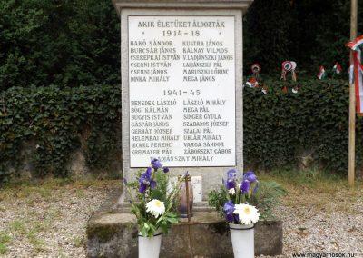 Őrbottyán világháborús emlékmű 2019.04.27. küldő-Bóta Sándor (3)