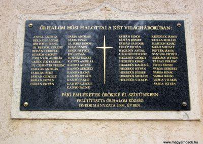 Őrhalom világháborús emléktábla 2012.03.08. küldő-kalyhas (2)