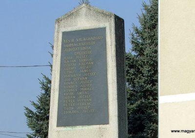 Őrimagyarosd világháborús emlékmű 2011.11.12. küldő-Marton Bence (1)
