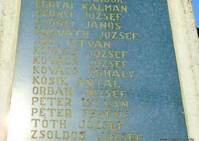 Őrimagyarosd világháborús emlékmű 2011.11.12. küldő-Marton Bence (3)