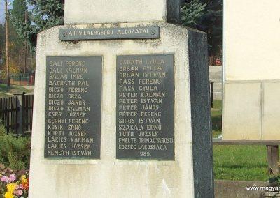 Őrimagyarosd világháborús emlékmű 2011.11.12. küldő-Marton Bence (4)