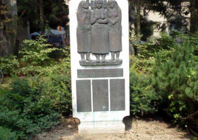 Őriszentpéter világháborús emlékmű 2010.08.13. küldő-Sümec