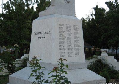 Abádszalók I.vh emlékmű 2008.08.19. küldő-Kályhás (3)