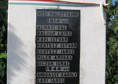 Abaújalpár világháborús emlékmű 2010.07.31. küldő-kalyhas (3)
