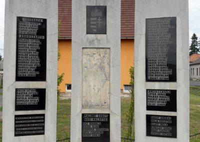 Abaújszántó II. vh emlékmű 2017.08.13. küldő-Eszterhai Zsuzsa