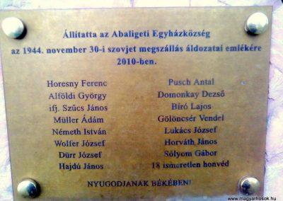 Abaliget II.vh emlék-kopjafa 2011.10.31. küldő-KRySZ (2)
