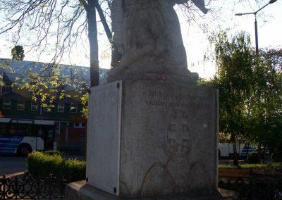 Abony I.vh emlékmű 2009.04.26. küldő-miki