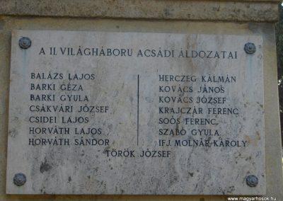 Acsád világháborús emlékmű 2009.01.08. küldő-gyurkusz (10)