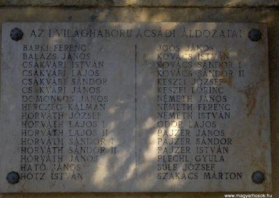 Acsád világháborús emlékmű 2009.01.08. küldő-gyurkusz (5)