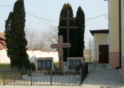 Acsalag világháborús emlékmű 2011.02.23. küldő-Ágca
