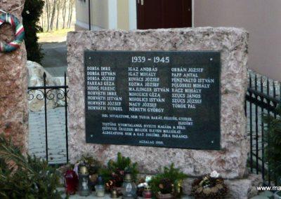 Acsalag világháborús emlékmű 2011.02.23. küldő-Ágca (6)