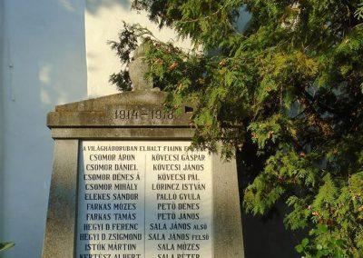 Agyagfalva I. világháborús emlékmű 2015.09.25. küldő-Mónika39 (1)
