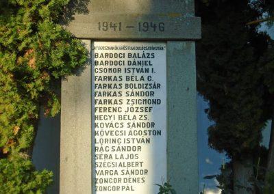 Agyagfalva II. világháborús emlékmű 2015.09.25. küldő-Mónika39