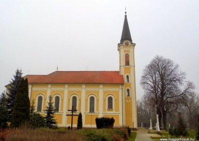 Agyagosszergény, katolikus templom