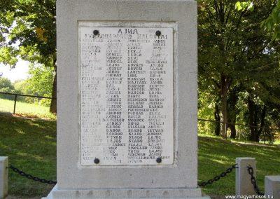Ajka, I. világháborús emlékmű