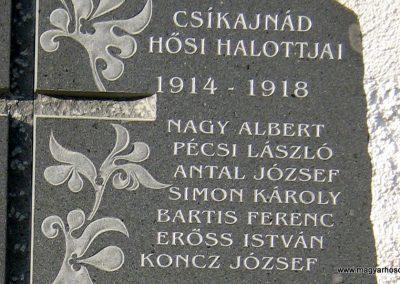 Ajnád világháborús emlékmű 2011.09.21. küldő-Mónika39-né (2)