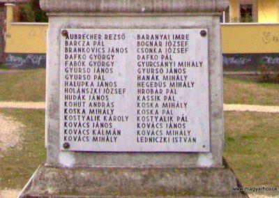 Albertirsa I. világháborús emlékmű 2009.03.17. küldő-miki (14)