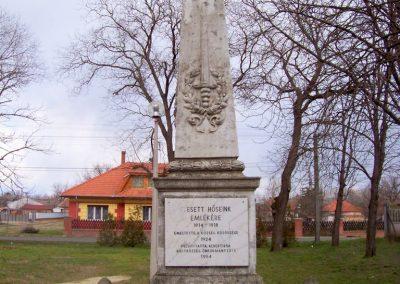 Albertirsa I. világháborús emlékmű 2009.03.17. küldő-miki