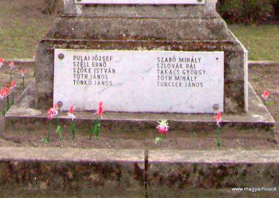 Albertirsa I. világháborús emlékmű 2009.03.17. küldő-miki (8)