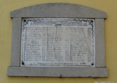 Aldebrő-templom Világháborús emléktáblák 2007.06.11. küldő-Kályhás (1)