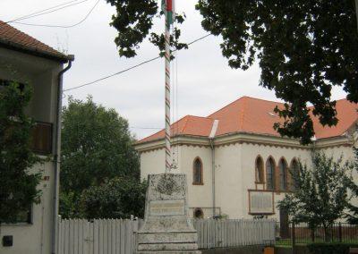Algyő I. világháborús emléktábla a Szent-Anna templom falán 2014.09.20. küldő-Emese