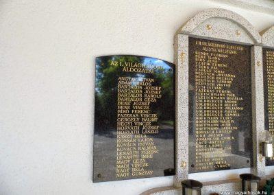 Alistál világháborús emléktáblák 2014.06.18. küldő-Méri (3)