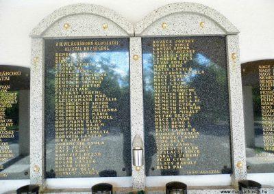 Alistál világháborús emléktáblák 2014.06.18. küldő-Méri (5)