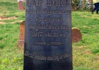 Alsóörs I. világháborús katonasír 2015.04.16. küldő-Csiszár Lehel (1)